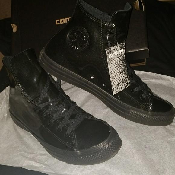 Converse Shoes   Converse Black Shiny